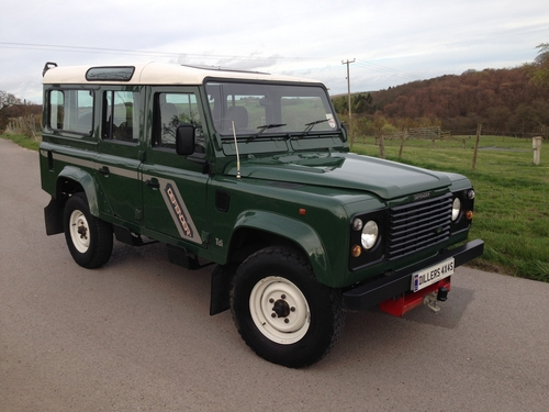 1996 N Land Rover Defender 110 County Station Wagon 300