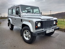 2005/55 LAND ROVER DEFENDER 110 COUNTY STATION WAGON TD5 9 SEATS + BELTS