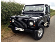 2002/52 LAND ROVER DEFENDER 90 'BLACK' LIMITED EDITION Td5 *1 of only 100 ever produced**