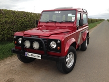 1998/R LAND ROVER DEFENDER 90 COUNTY STATION WAGON 300 Tdi