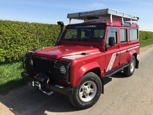 1998/R LAND ROVER DEFENDER 110 COUNTY STATION WAGON 300 Tdi *EXPEDITION PREPARED*