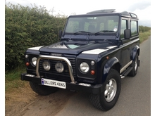 2000/X LAND ROVER DEFENDER 90 COUNTY STATION WAGON Td5 * SUPERB LOW MILEAGE EXAMPLE*