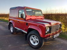 2000/X LAND ROVER DEFENDER 90 COUNTY PACK TD5 HARD TOP **STUNNING EXAMPLE**