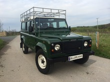 1999/T LAND ROVER DEFENDER 110 COUNTY STATION WAGON Td5 WITH 12 SEATS