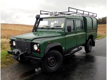 2001/51 LAND ROVER DEFENDER 130 DOUBLE CAB/HIGH CAP Td5 *VERY RARE*