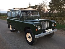 1979/V LAND ROVER SERIES 3 109 COUNTY STATION WAGON **1 OWNER FROM NEW**