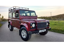 2002/51 LAND ROVER DEFENDER 110 COUNTY STATION WAGON TD5