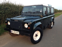 1997/P LAND ROVER DEFENDER 110 COUNTY STATION WAGON 300 Tdi *ONLY 92,000 MILES*